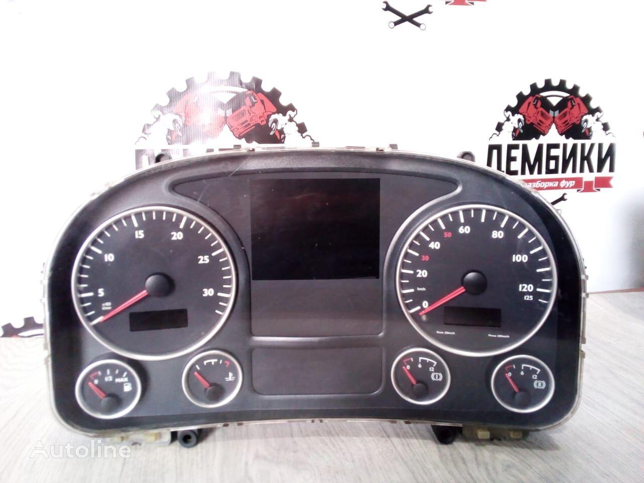 dashboard for MAN TGX truck