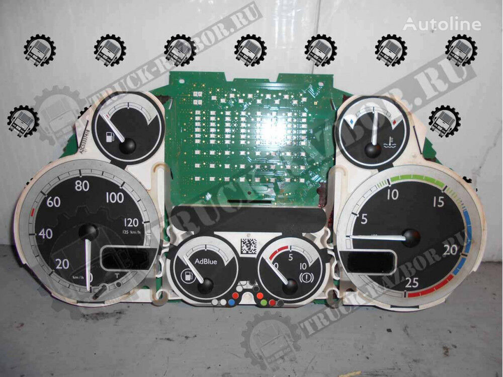 DAF (plata) (1554.71.009.01) dashboard for DAF tractor unit