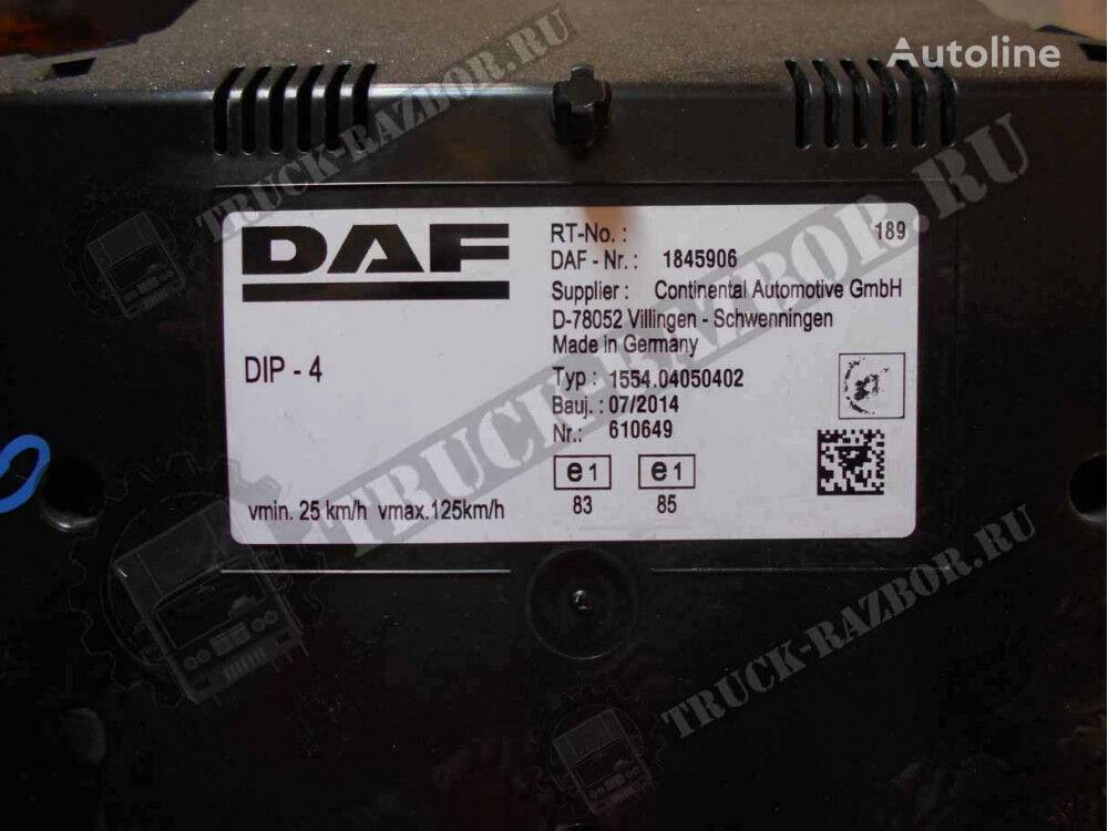 DAF dashboard for DAF tractor unit