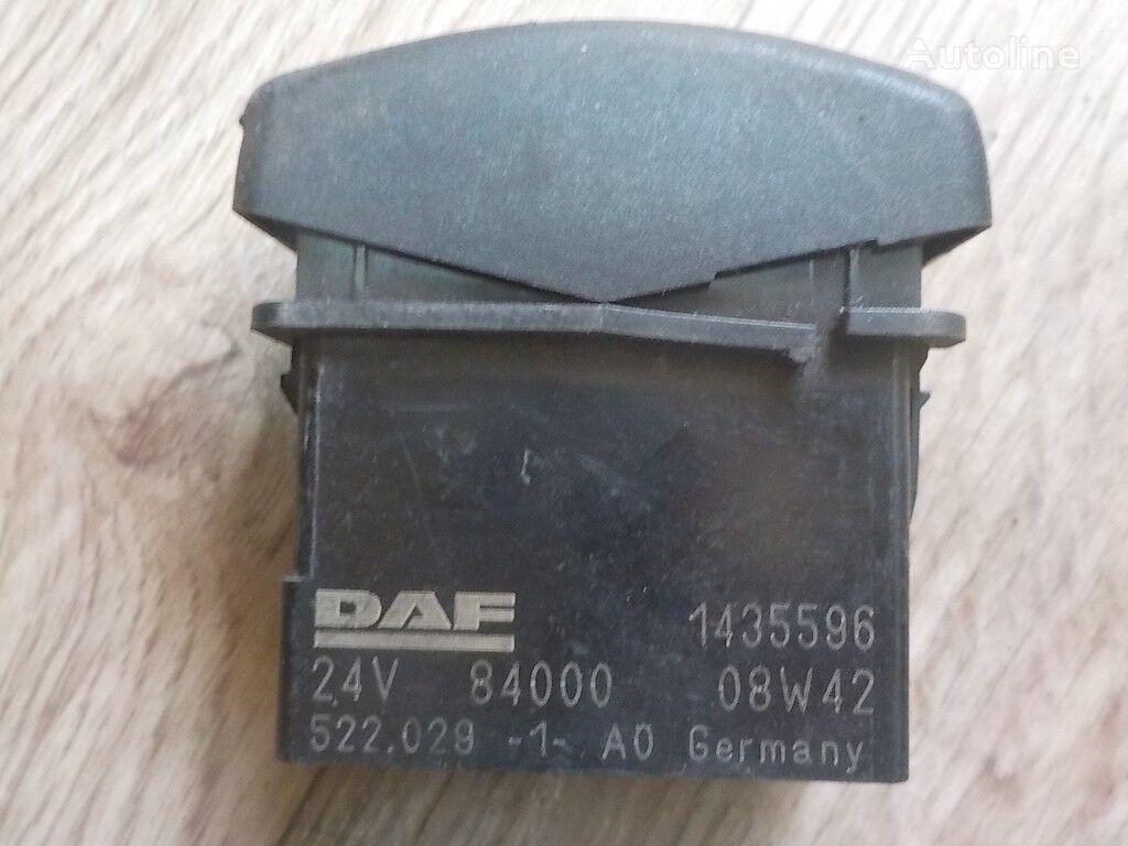 dashboard for DAF truck