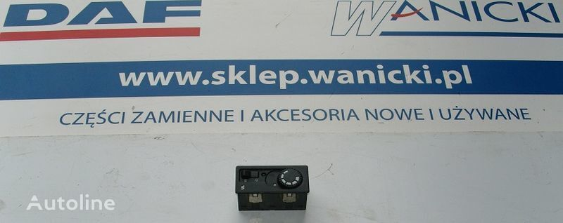 DAF WEBASTO dashboard for DAF CF 65, 75, 85 tractor unit