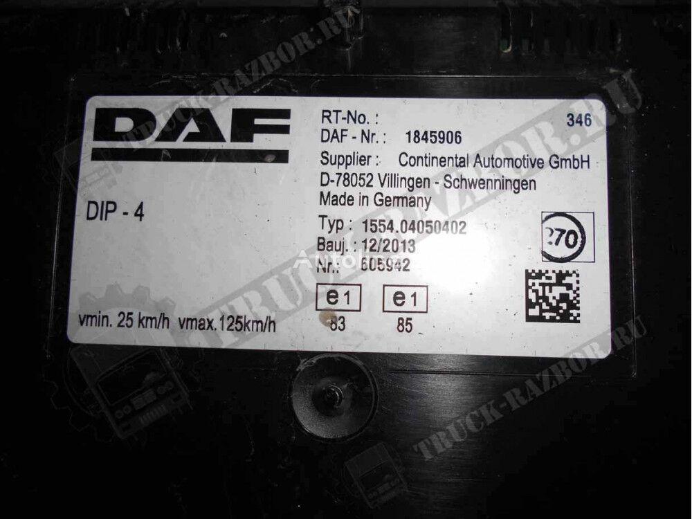 DAF panel priborov (1845906) dashboard for DAF tractor unit