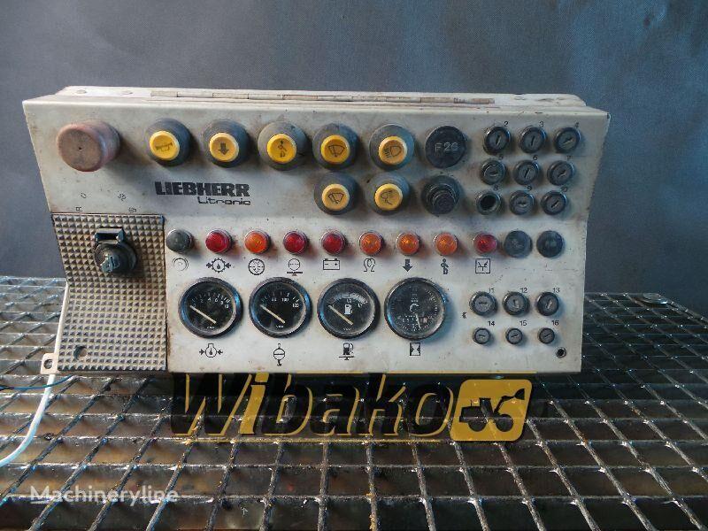 LIEBHERR PR 722 dashboard for LIEBHERR PR 722 bulldozer