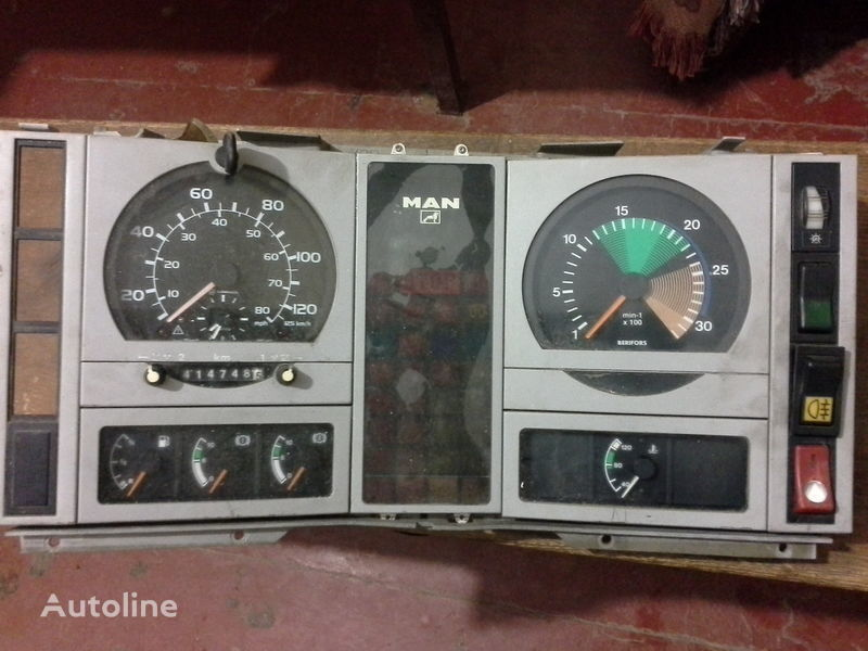 MAN dashboard for MAN  L2000  truck