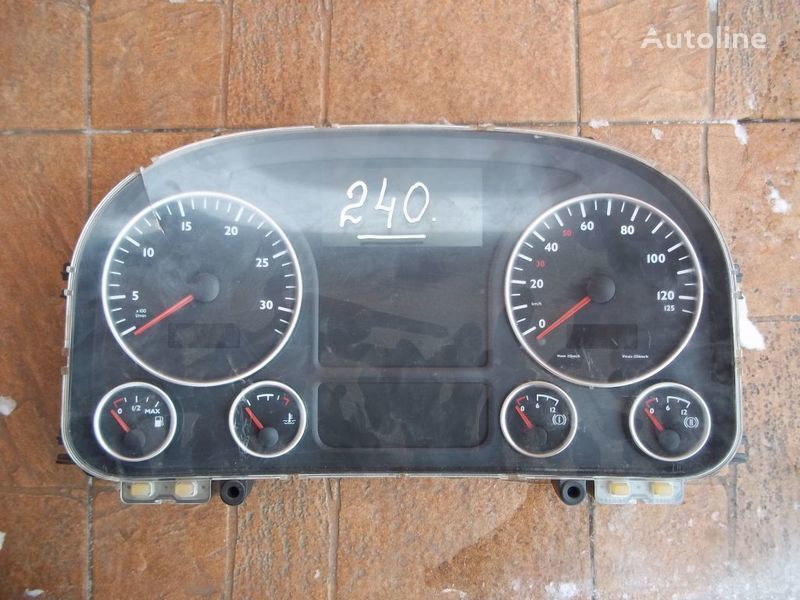 dashboard for MAN TGA tractor unit