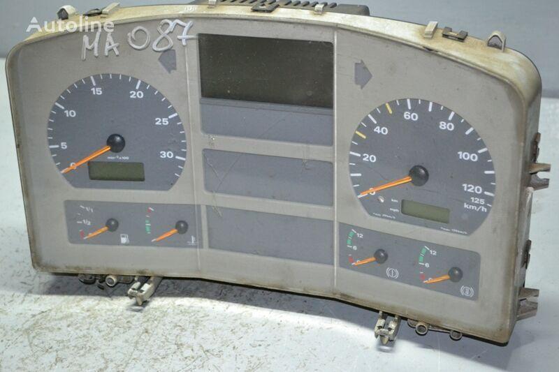 MAN TGA 18.360 (01.00-) dashboard for MAN TGA (2000-2008) truck