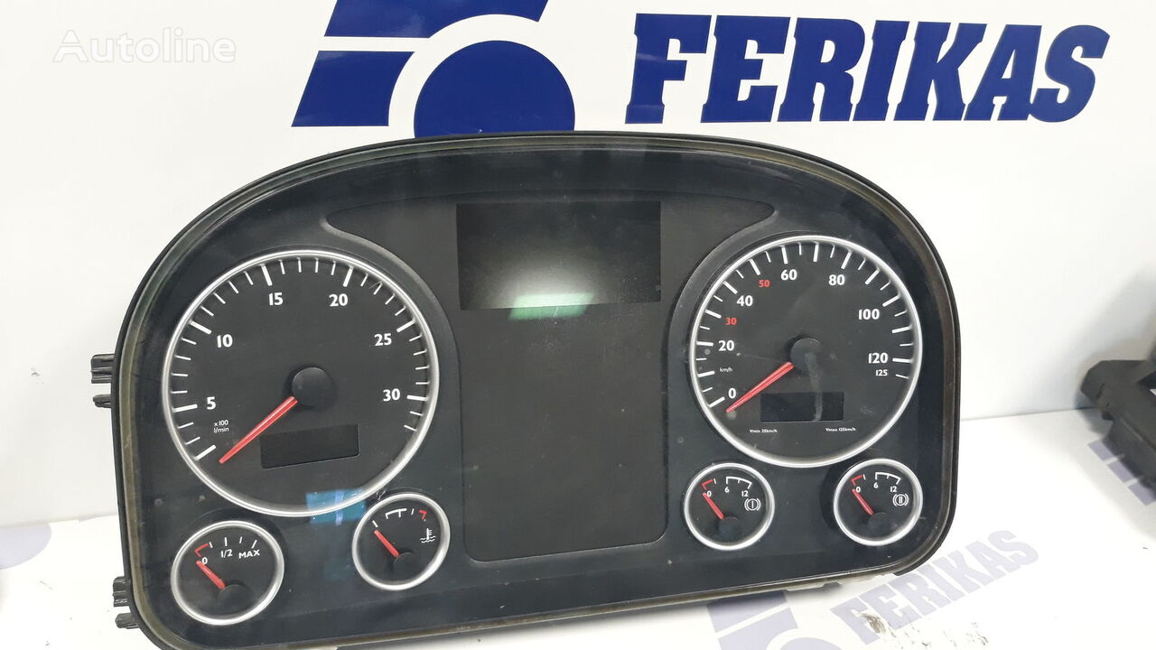 MAN instrument cluster dashboard for MAN TGX tractor unit