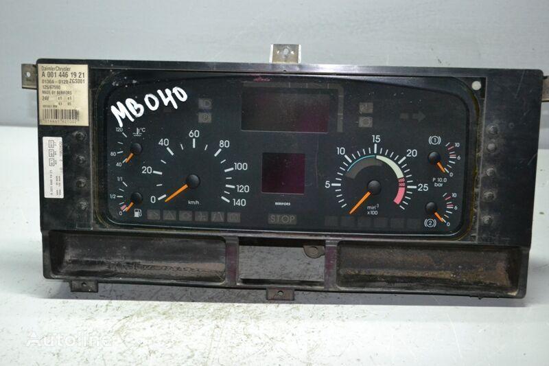MERCEDES-BENZ Actros MP1 1840 (01.96-12.02) dashboard for MERCEDES-BENZ Actros MP1 (1996-2002) truck