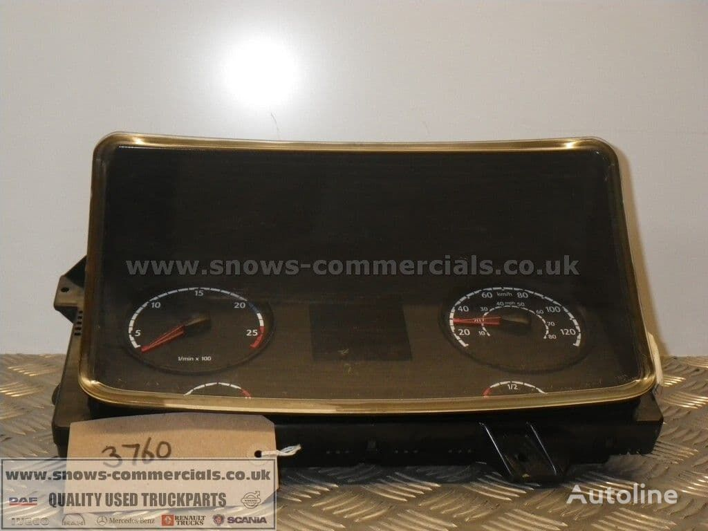 SCANIA Instrument Panel dashboard for truck