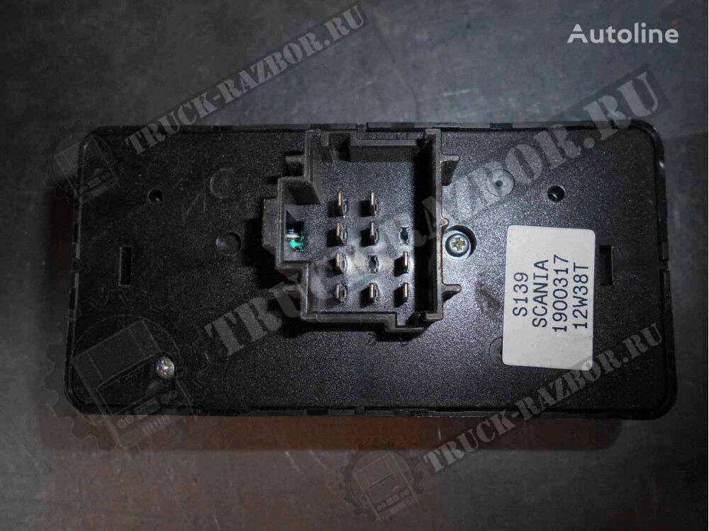 SCANIA pereklyuchatel sveta far (1900317) dashboard for SCANIA tractor unit
