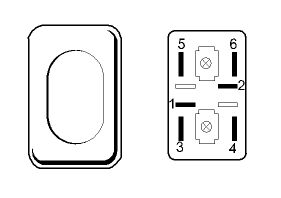 Switches, Others dashboard for SCANIA 4-series 94/114/124/144/164 (1995-2004) tractor unit