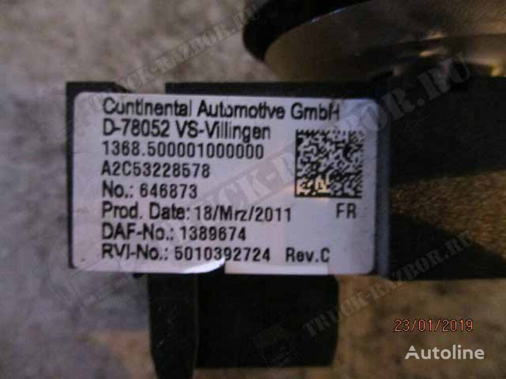 pereklyuchatel dashboard for DAF tractor unit