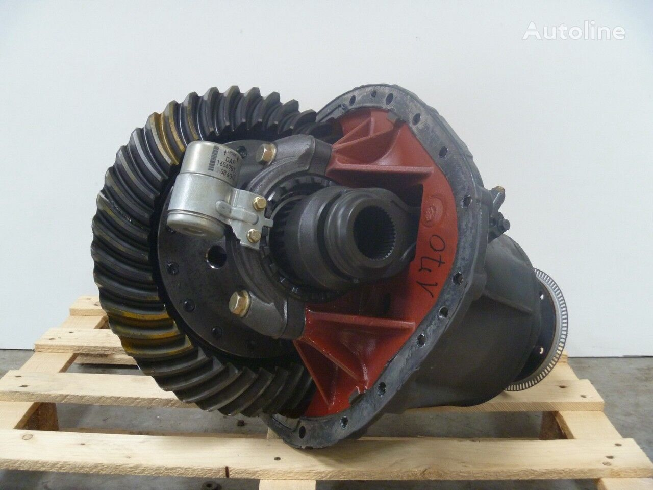 DAF 1347 - 2.53 differential for truck