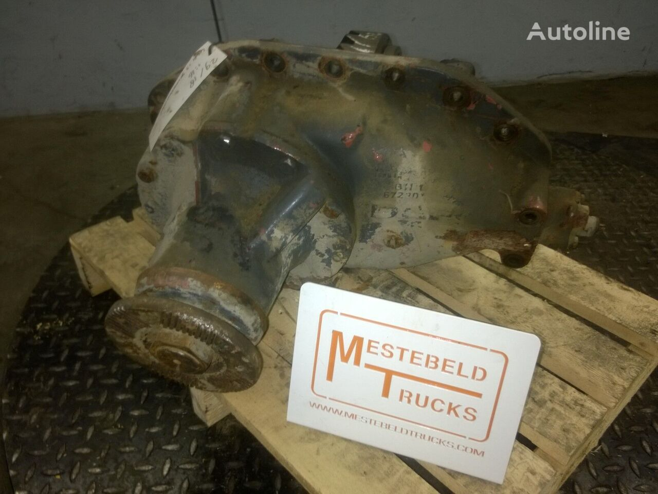 DAF Differentieel 1355 - 5.48 differential for DAF truck