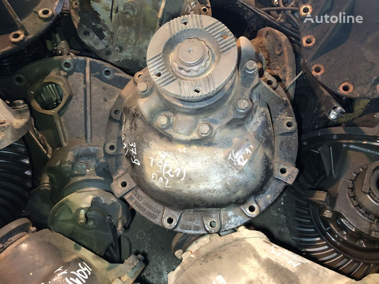 differential for MAN TGA 37:9 truck