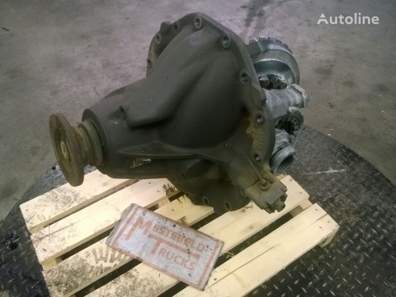 HL8 41/13=3.153 differential for MERCEDES-BENZ Differentieel HL8 truck