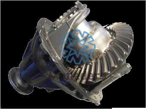 new differential for MERCEDES-BENZ HL6 / HL8 truck