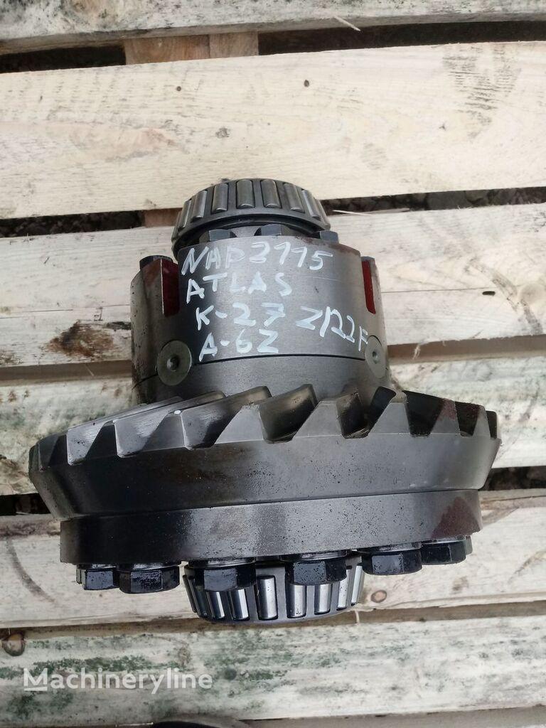 Mechanizm różnicowy Atlas 1604 WY2100 27/6 F-22 differential for backhoe loader