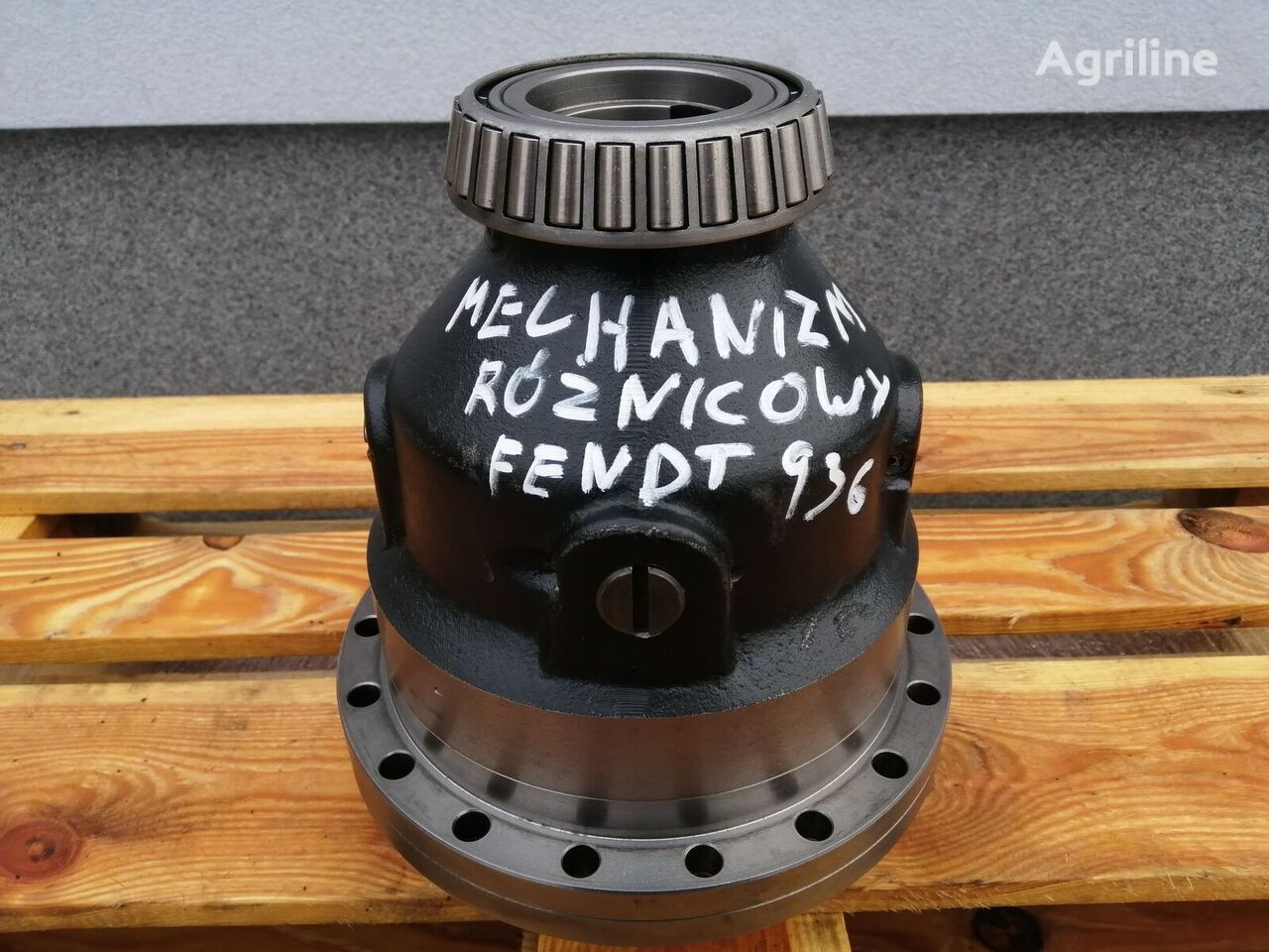 Mechanizm różnicowy Fendt 936 Vario differential for tractor