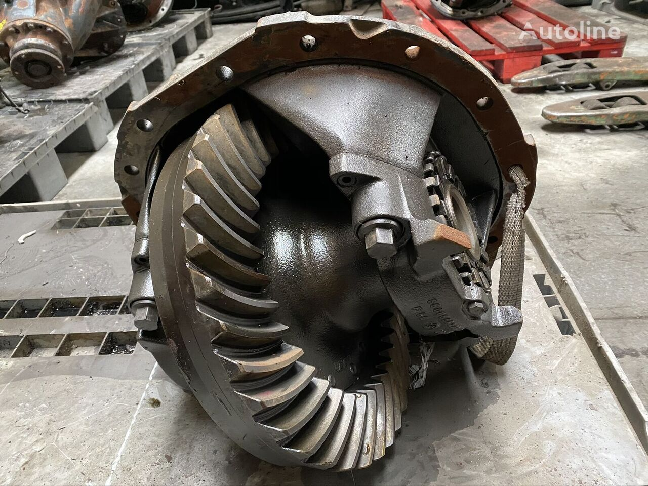 RENAULT 37/11 differential for truck