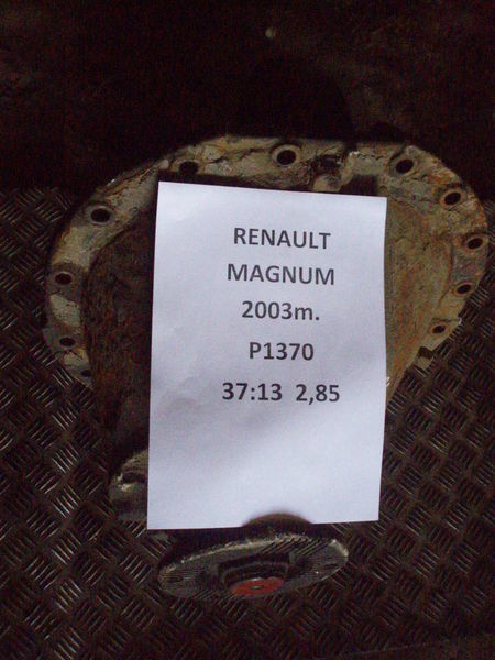 P1370 differential for RENAULT MAGNUM tractor unit