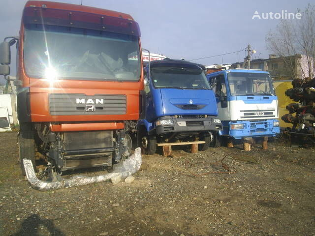 drive axle for MAN TGA 18.480 truck