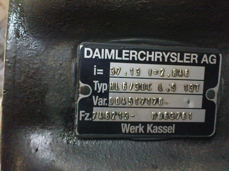 MERCEDES-BENZ HL6 ,40/13,37/13, Mercedes drive axle for MERCEDES-BENZ AXOR,ACTROS tractor unit