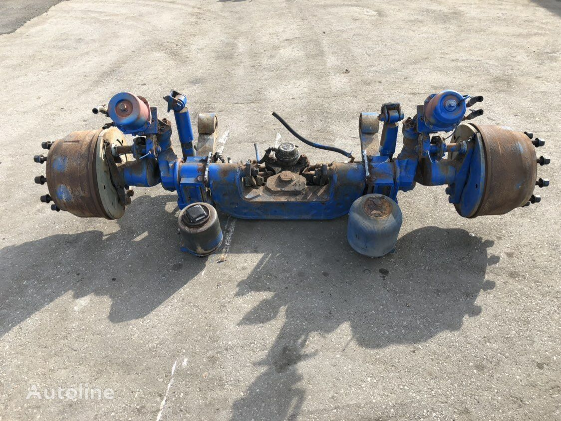 MIDDLE TURNING AXLE drive axle for tractor unit