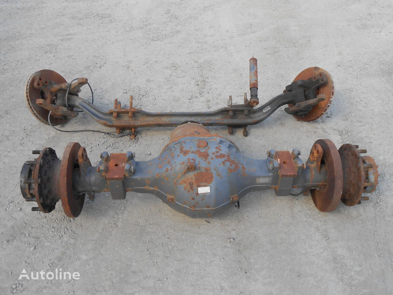 SCANIA drive axle for SCANIA 124 tractor unit