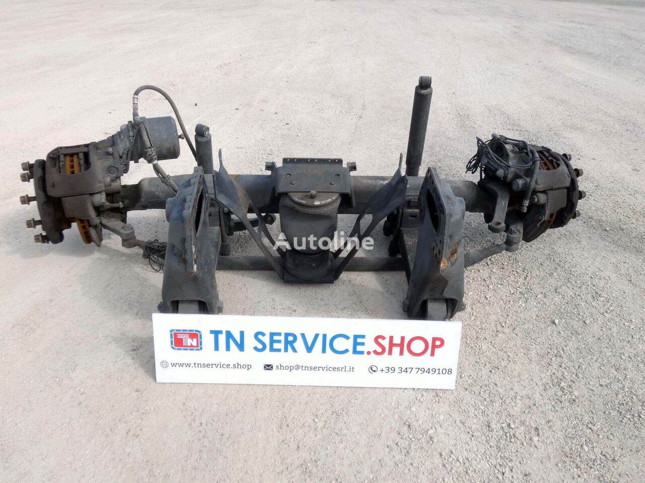 SCANIA Terzo asse P340 drive axle for SCANIA P340 tractor unit