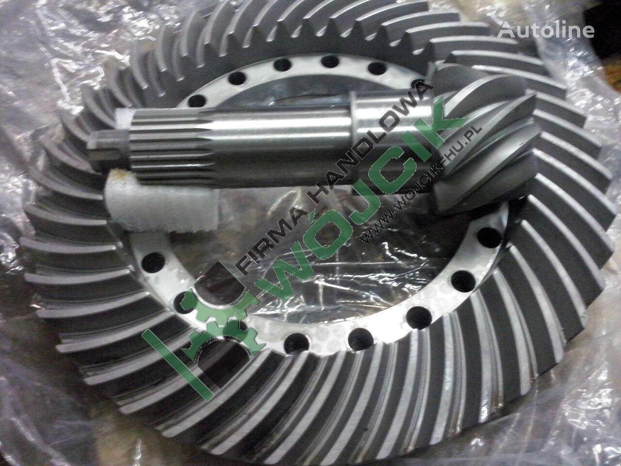 new VOLVO Wałek atakujący z kołem talerzowym 9/43 Bevel gear set to 9/43 drive axle for VOLVO wheel loader