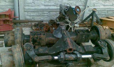 drive axle for ZEPPELIN 13 excavator