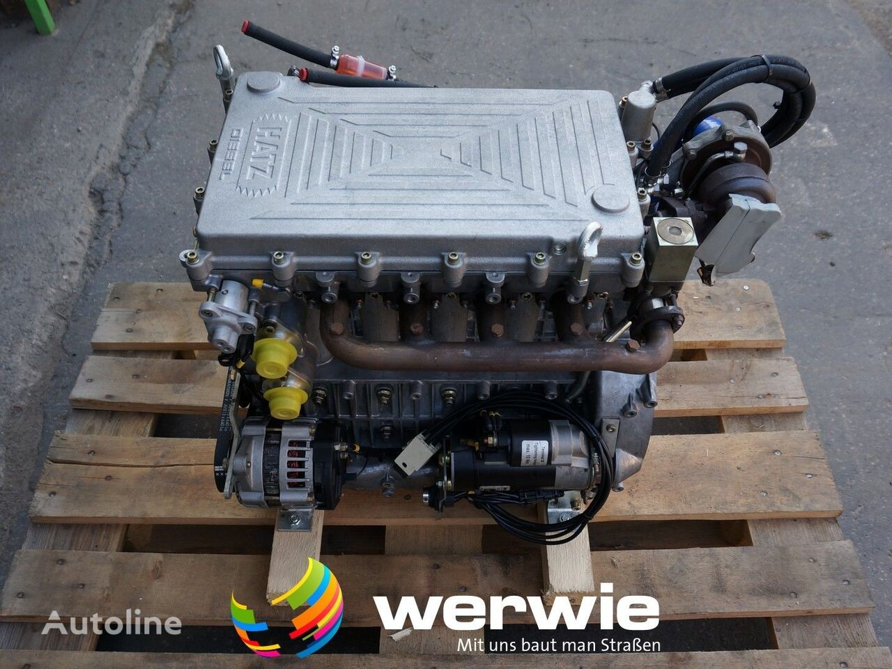new engine for construction roller