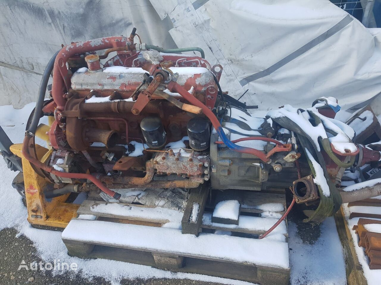 engine for IVECO truck