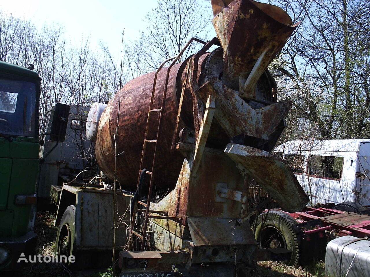 KAMAZ engine for truck
