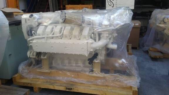 new MAN Marine propulsion (V12-D2862LE432) engine for MAN camper