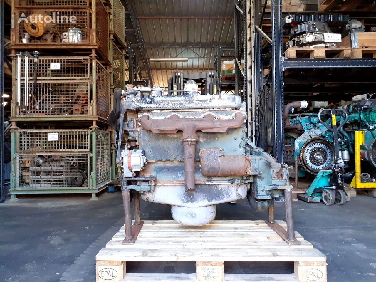MERCEDES-BENZ OM 352 (Used) engine for truck