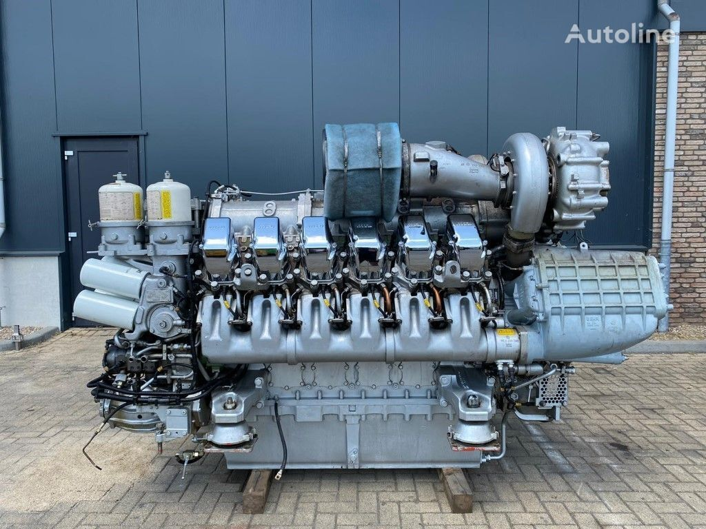 MTU 12V 4000 Marine 1320 kW 1798 PK Diesel Engine as New ! engine for other water transport