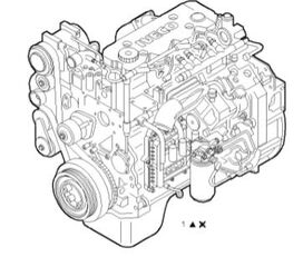 Motor Completo engine for IVECO EuroCargo tector Chasis (Modelo 80 EL 17) [3,9 Ltr. - 110 kW Diesel] truck
