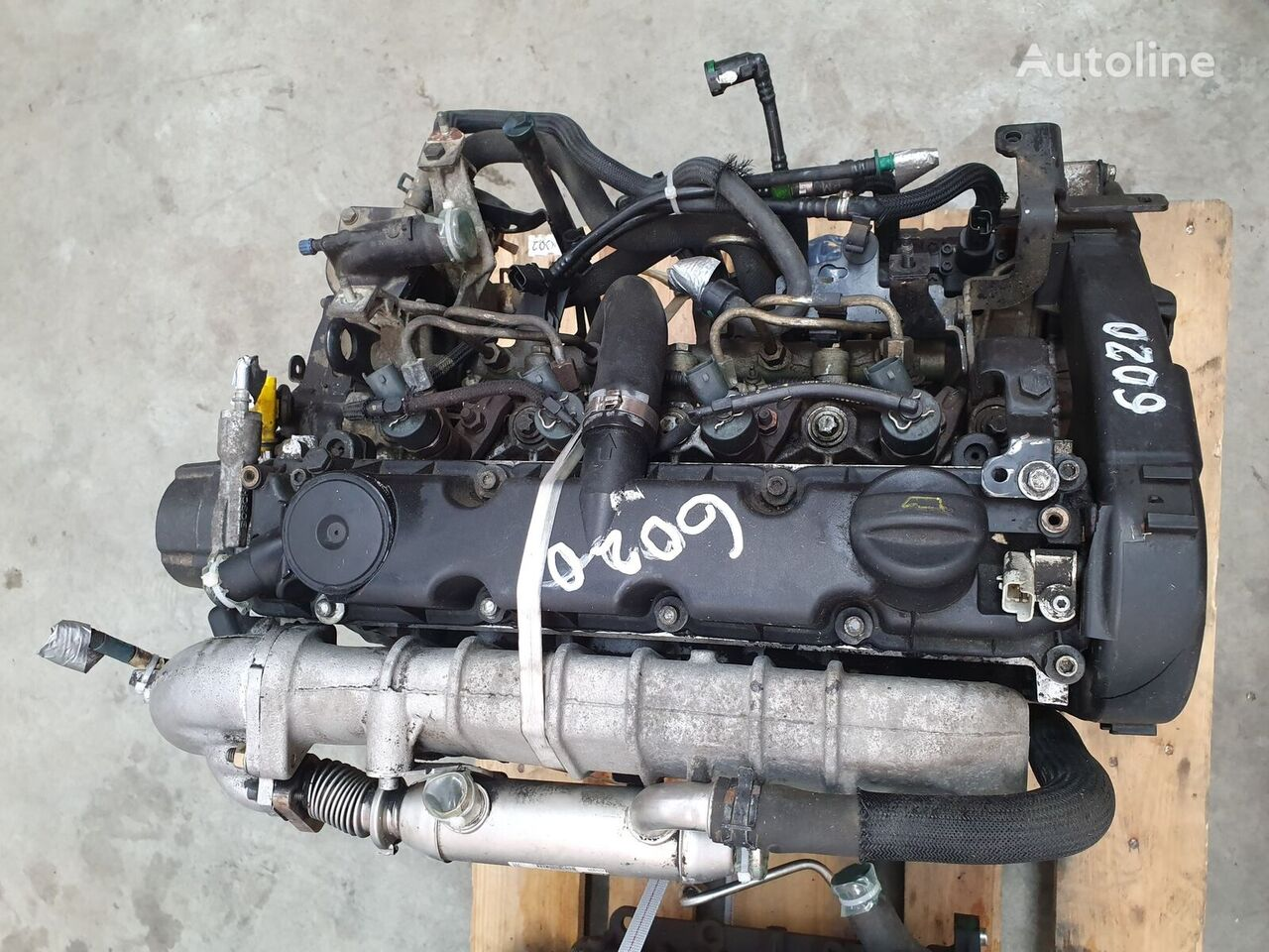 PEUGEOT Motor complet fara anexe Peugeot DW10TD, Euro 3, 66 KW, 2.0 HDI engine