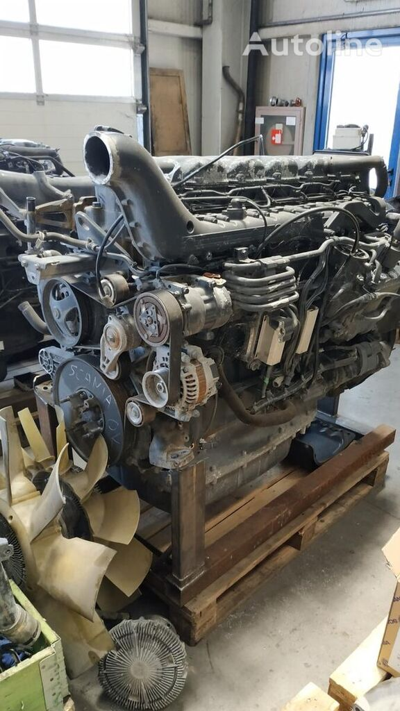 engine for SCANIA R440 tractor unit for parts