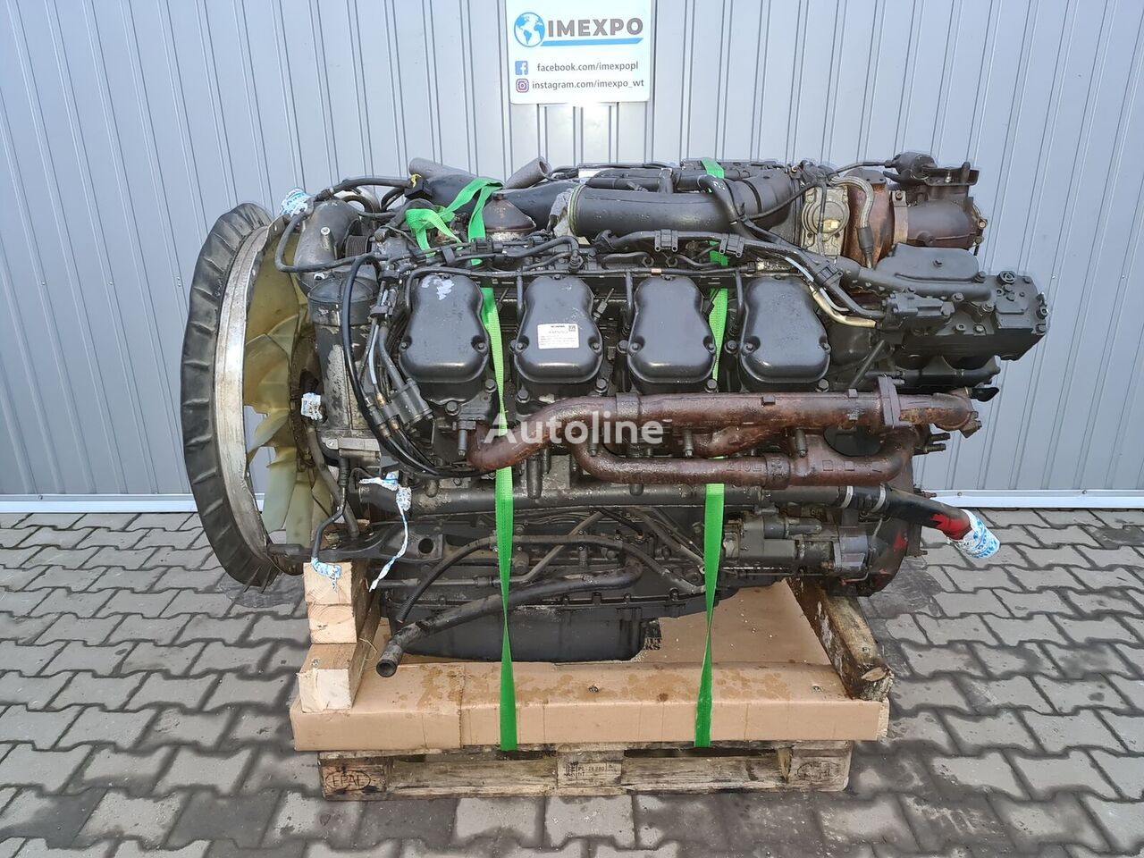 SCANIA DC16 102 L01 / V8 / EURO 6 COMPLETE ENGINE engine for SCANIA tractor unit