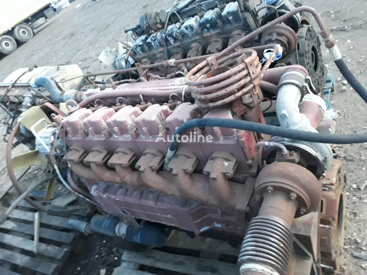 STEYR engine for truck