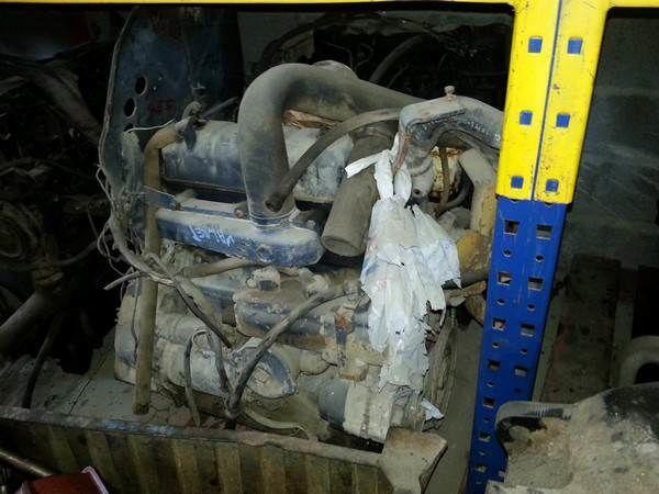 VALMET engine for tractor