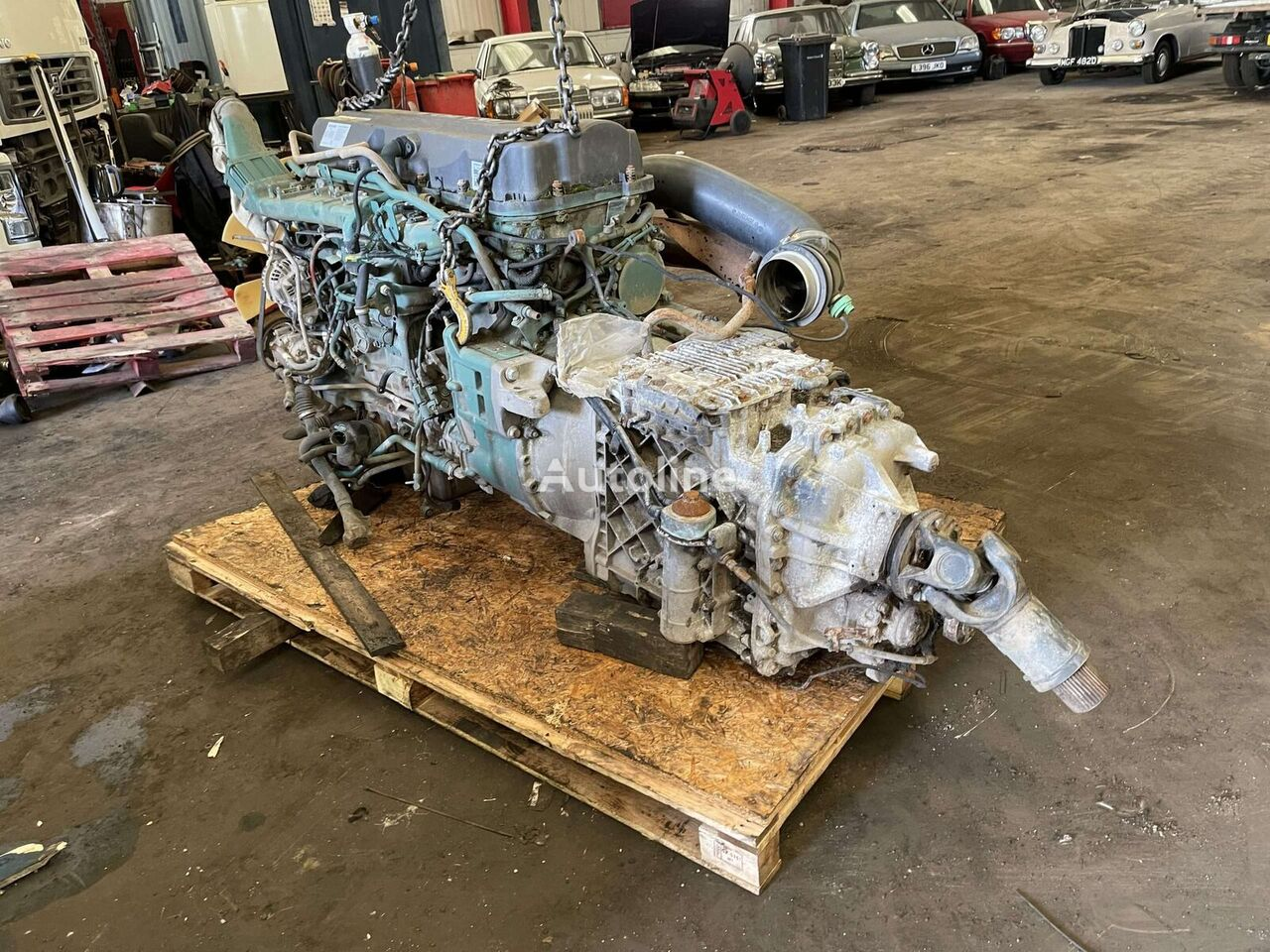 VOLVO D11C engine for VOLVO truck