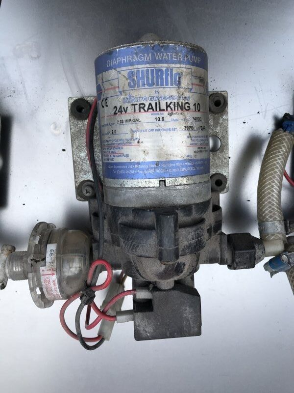 (2095.473.143) engine cooling pump for SHURflo bus