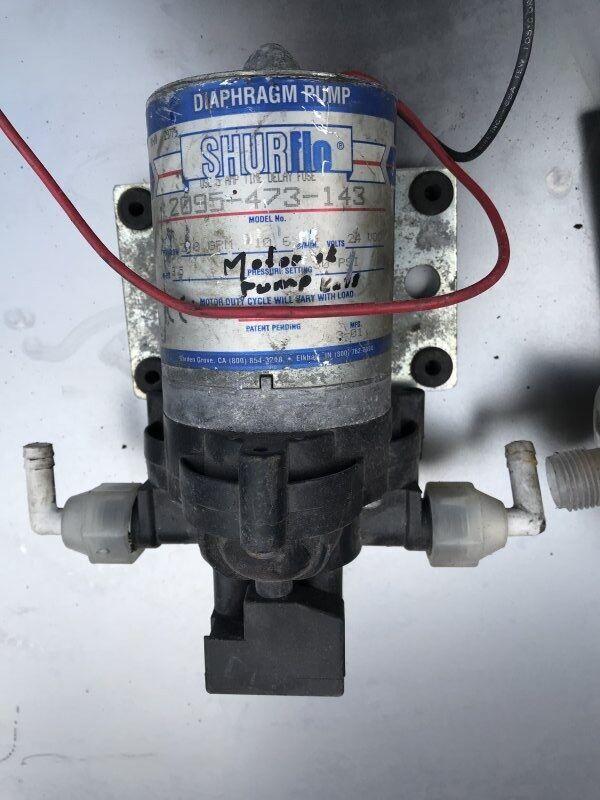 Po Shurflo (2095.473.143) engine cooling pump for SHURflo bus