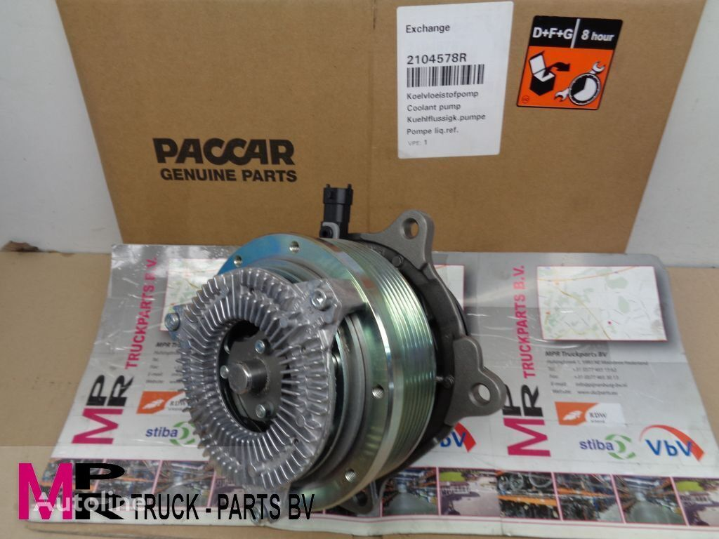 DAF 2104578R waterpomp 2-traps DAF engine cooling pump for truck