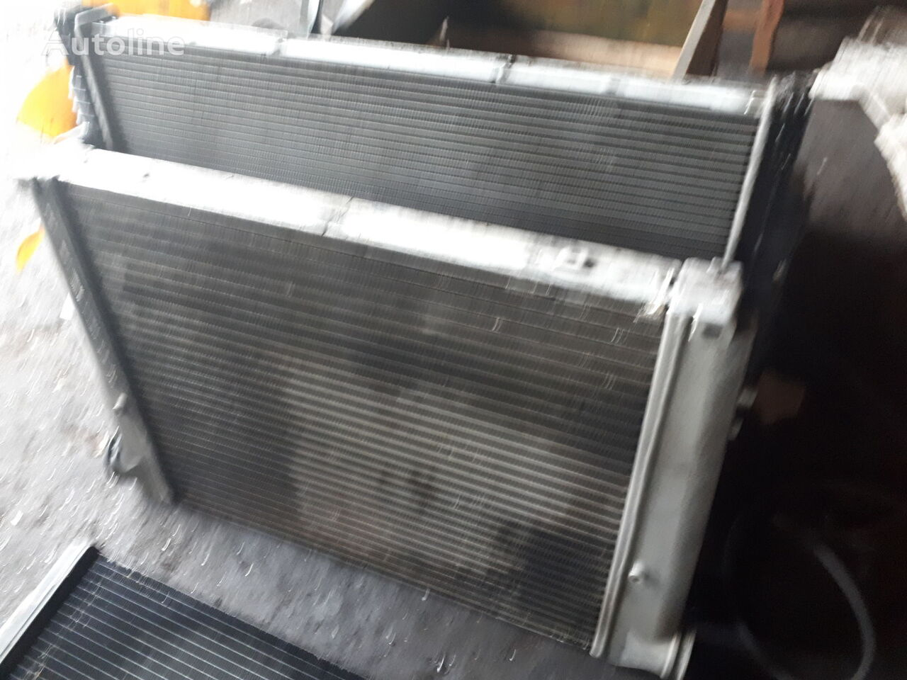 engine cooling radiator for MAN City, Volvo\Scania bus