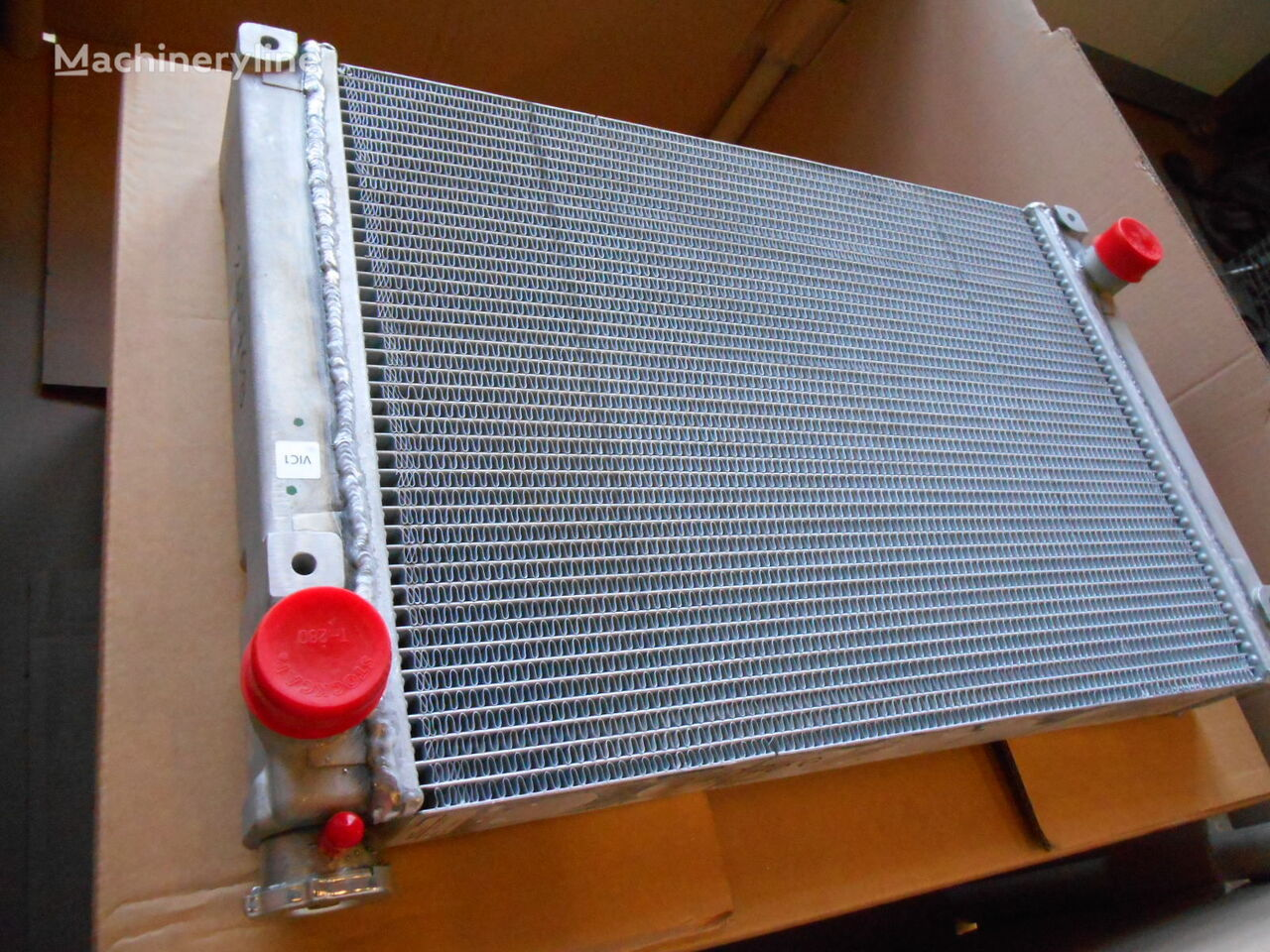 CASE Adams engine cooling radiator for CASE C227 compact track loader